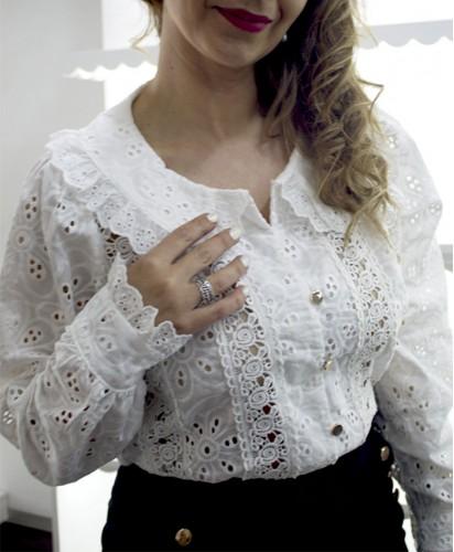 Blusa Gola Redonda