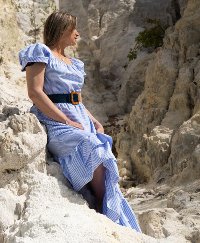 Vestido Carré
