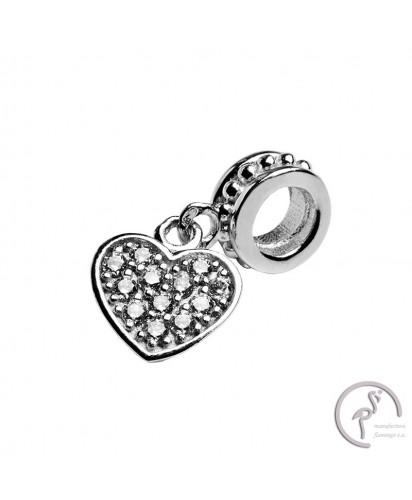 Berloque Charm SMW Coração