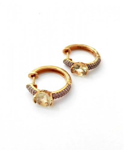 Argolas Douradas C/Pedras