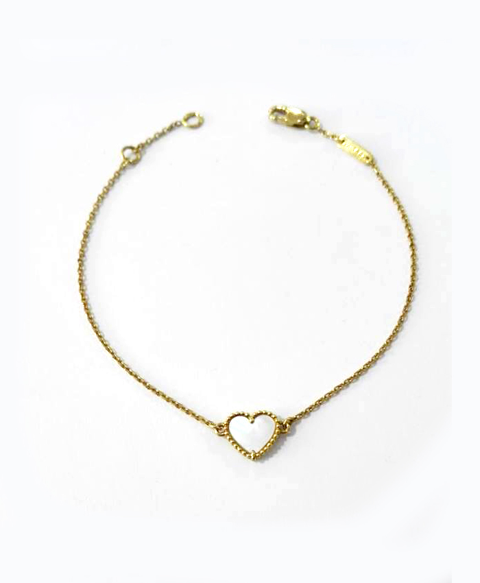 Pulseira Ouro Coração