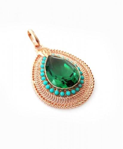 Medalha Ouro Pedra Verde